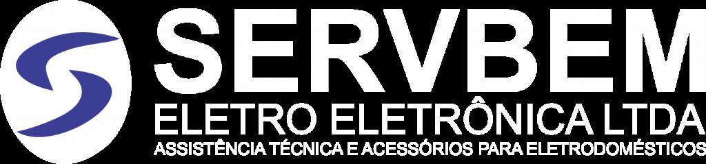 Logotipo Eletroeletrônica Servbem Cotia e Vargem Grande Paulista SP